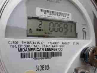 MidAmerican Energy Power Meter
