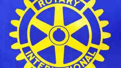 Photo of Charles City Rotary Club collect 150,000 pounds of scrap