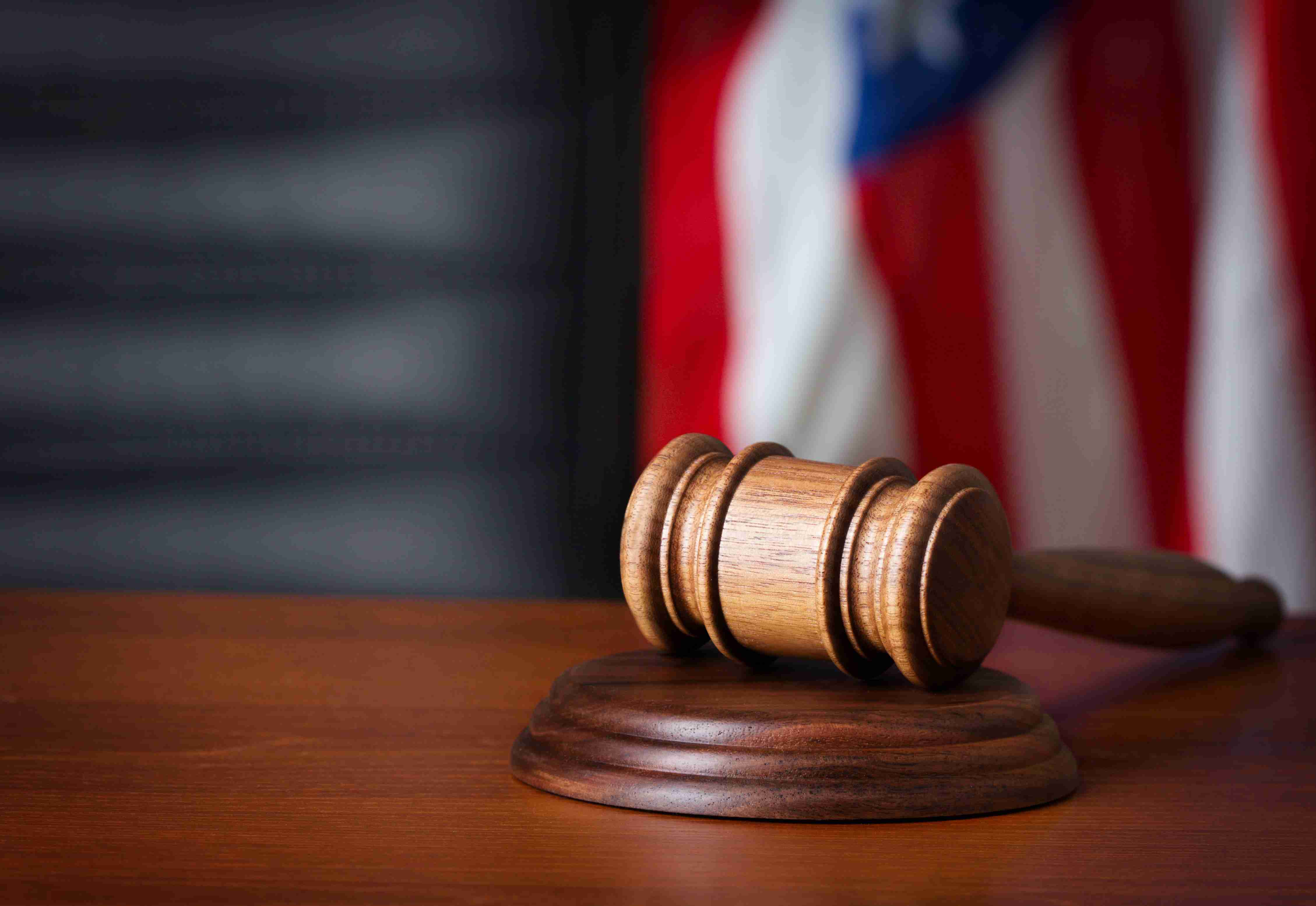 gavel on court desk 951 the bull