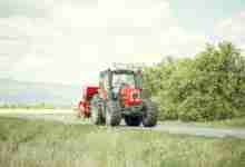 Photo of Sharing the roads with farm equipment