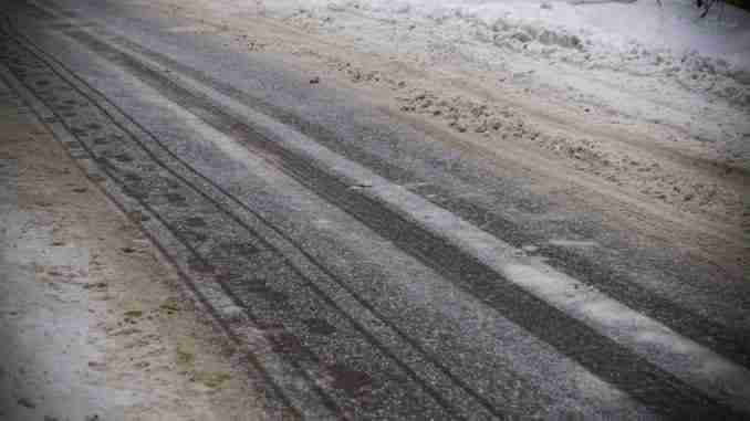 Snow Roads, Snow On Asphalt, Rural Roads