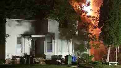 Photo of UPDATED: Fire damages Charles City apartment building; no injuries