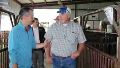 Photo of Iowa Secretary Of Ag Visits Floyd County Fair
