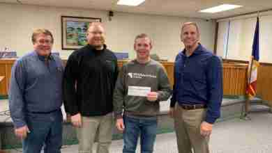 Photo of Youth baseball receives $5,000 donation