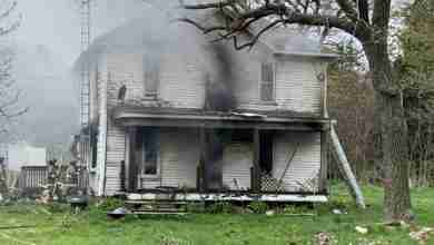 Photo of Fire rips through Floyd County home