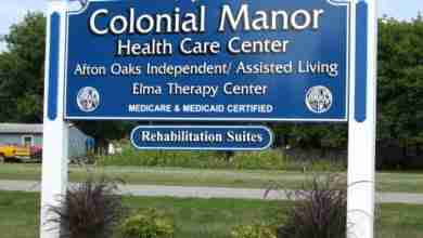 Photo of Colonial Manor of Elma awarded Governor's Award for Quality Care