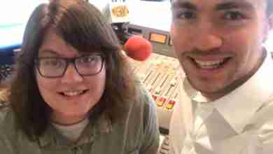Photo of Carter Melrose and Susan 'Suzie' Schrodt new KCHA morning personalities