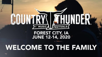 Photo of 1st annual Iowa Country Thunder Music Festival releases line-up