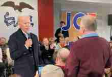 Photo of New Hampton man makes national headlines after epic altercation with Joe Biden