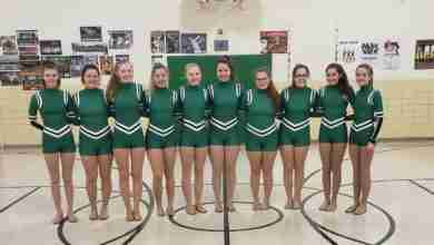 Photo of Osage dance team state bound
