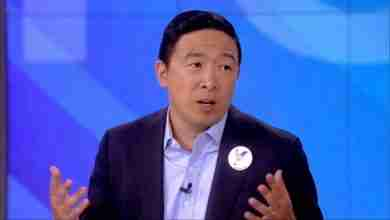 Photo of Andrew Yang in Charles City next week