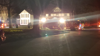 Photo of Wednesday night fire damages Charles City home