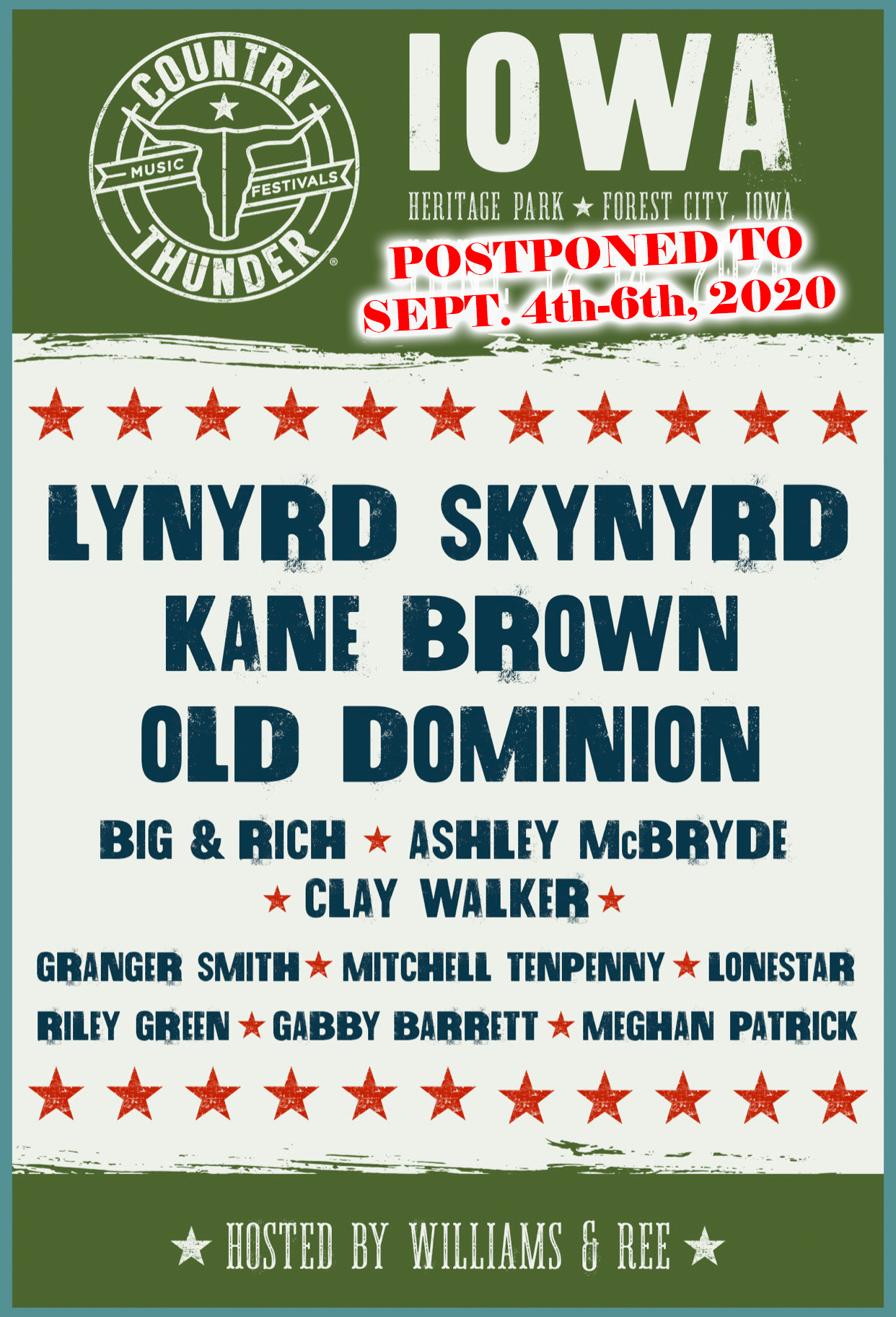 Country Thunder Iowa 2020