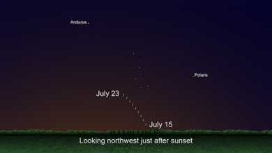 Photo of Where and when to look to spot the NEOWISE comet over Iowa