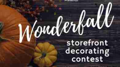 Photo of Charles City 'WonderFall' business decorating contest to spice-up storefronts in October
