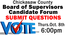 Chickasaw County Board of Supervisors Candidate Forum - Submit Questions Here