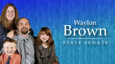 Photo of Waylon Brown for Iowa Senate talks Logan's Law, occupational licensing, skilled workforce